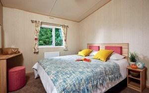 ABI-Summer Breeze luxury interior in one of our Holiday Homes for sale in Cornwall at Trelay Holiday Park.