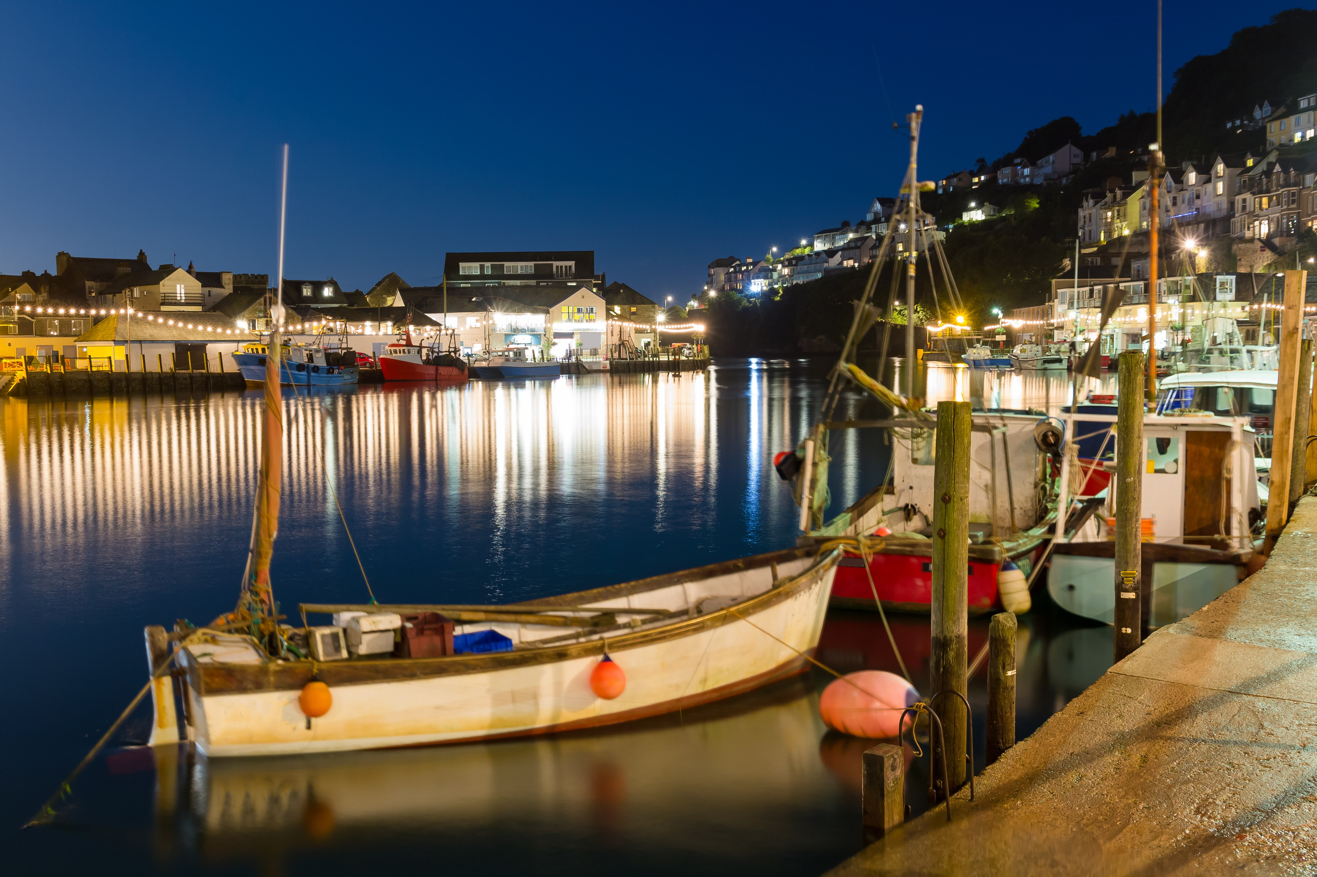 Looe Harbour a Favourate Place to Visit for Static Caravan Owners at Trelay Holiday Park